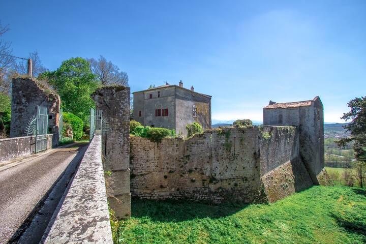 Maison de Maître Le Château deTerride à Mirepoix.