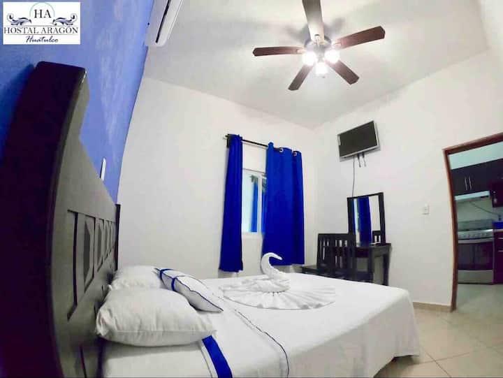 """Casa """"HA"""" Apartamento cómodo WIFI/AC/TV"""