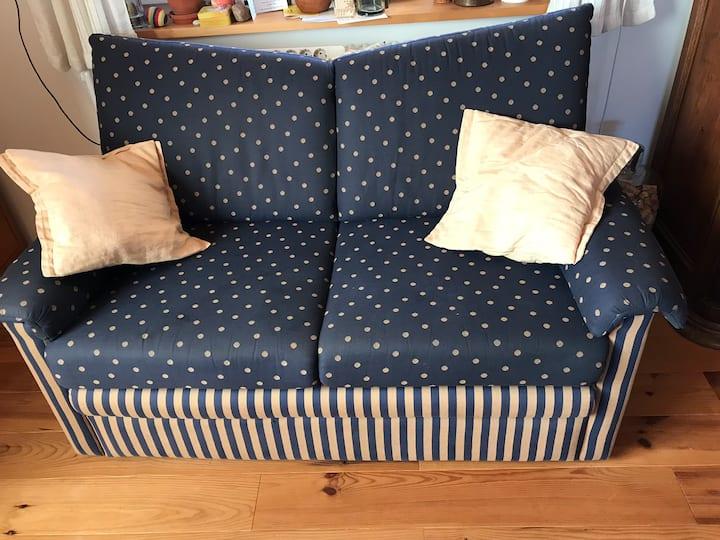 Dein Schlafsack, unsere Couch, ein BIO-Frühstück