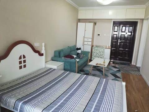 奇幻梦旅   环球外滩国际城超舒适高层公寓