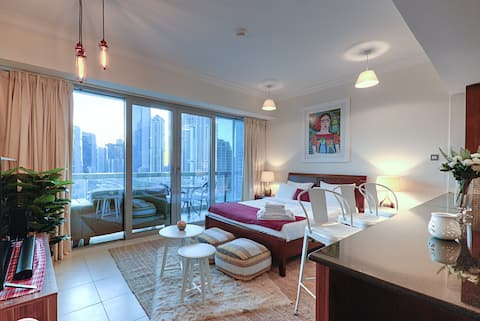 Elegant Apartment near by Burj Khalifa!!