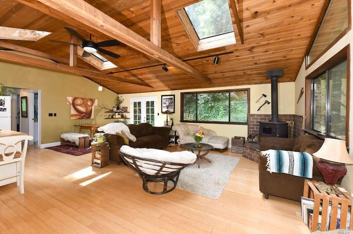 Cabin in Sonoma County - Long Term Rentals Only