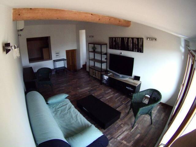 Studio meublé 24m2 charme, centre historique, clim - 普羅旺斯艾克斯 - 公寓