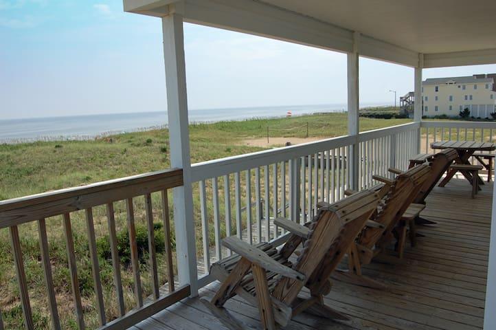 Cottage 182-Direct Oceanfront! Wonderful Views!
