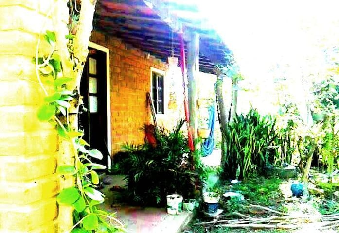 Casa Araça, Vale do Capão, quartos para alugar. - Caeté-Açu - Rumah