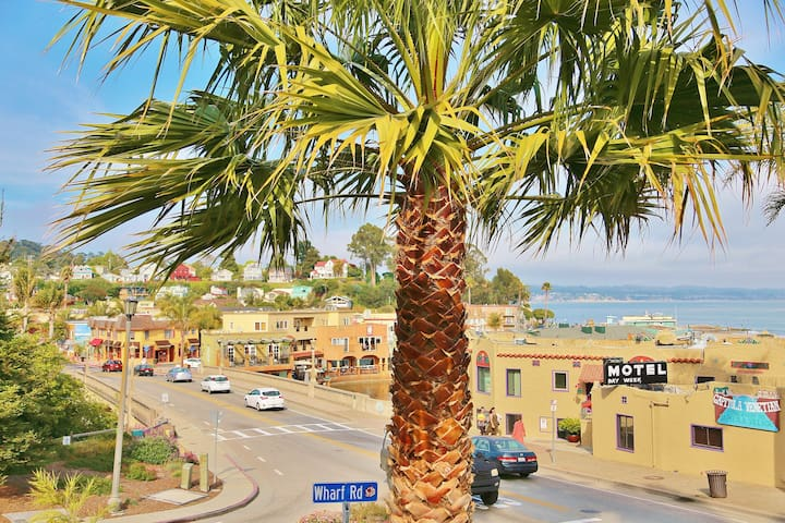 Capitola Dreamin - oceanview condo in the heart of Capitola Village!
