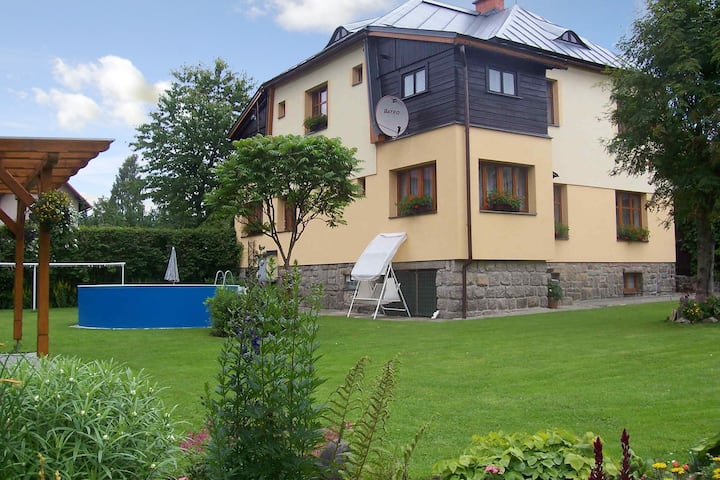 Apt for 4+1 pers with pool in Harrachov R4311