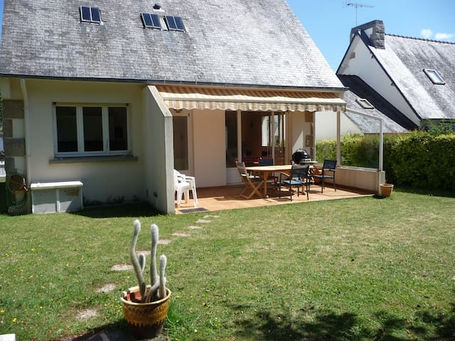 """Villa de vacances """"Les Ebihens""""  PLAGE à 200 m - Lancieux - 단독주택"""