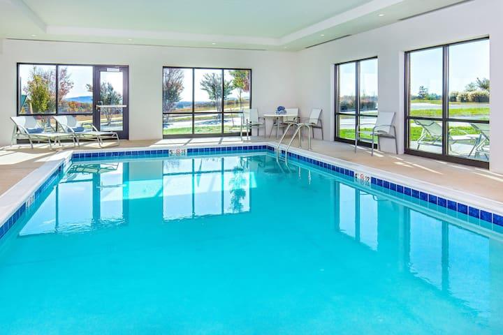 Near University of Virginia + CHO | Free Breakfast, Indoor Pool!