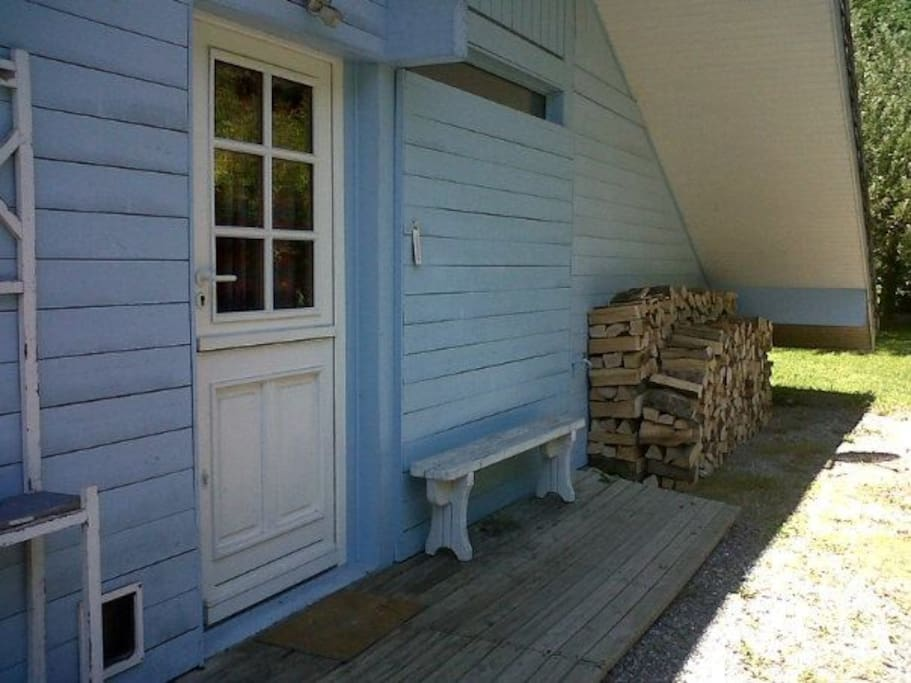 Traditional wooden chalet