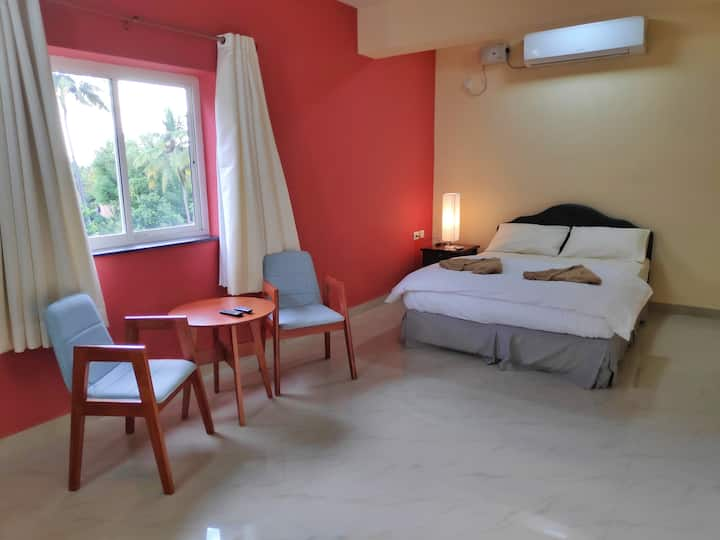 Cozy (Govt Approved) AC Studio Apartment in Panjim