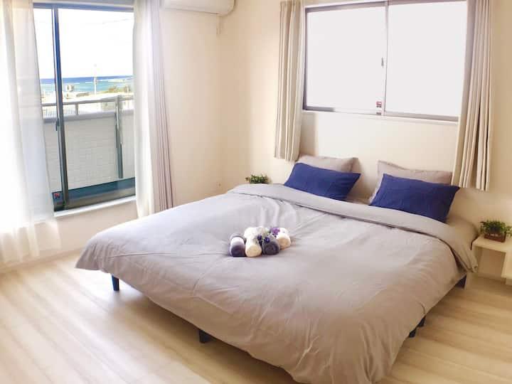 奥武壹号B棟奥武島に海を見える新しい一軒家海まで徒歩1分奧武島上能看見海的新別墅