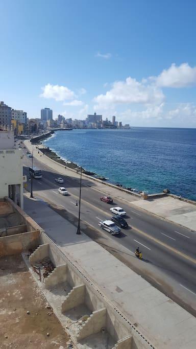 Havana bay view from common area