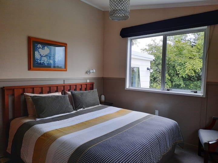 Super king bedroom with beautiful view, breakfast