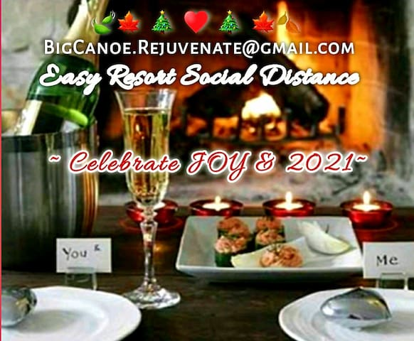 Rejuvenate at Big Canoe w/E-Z Social Distance!