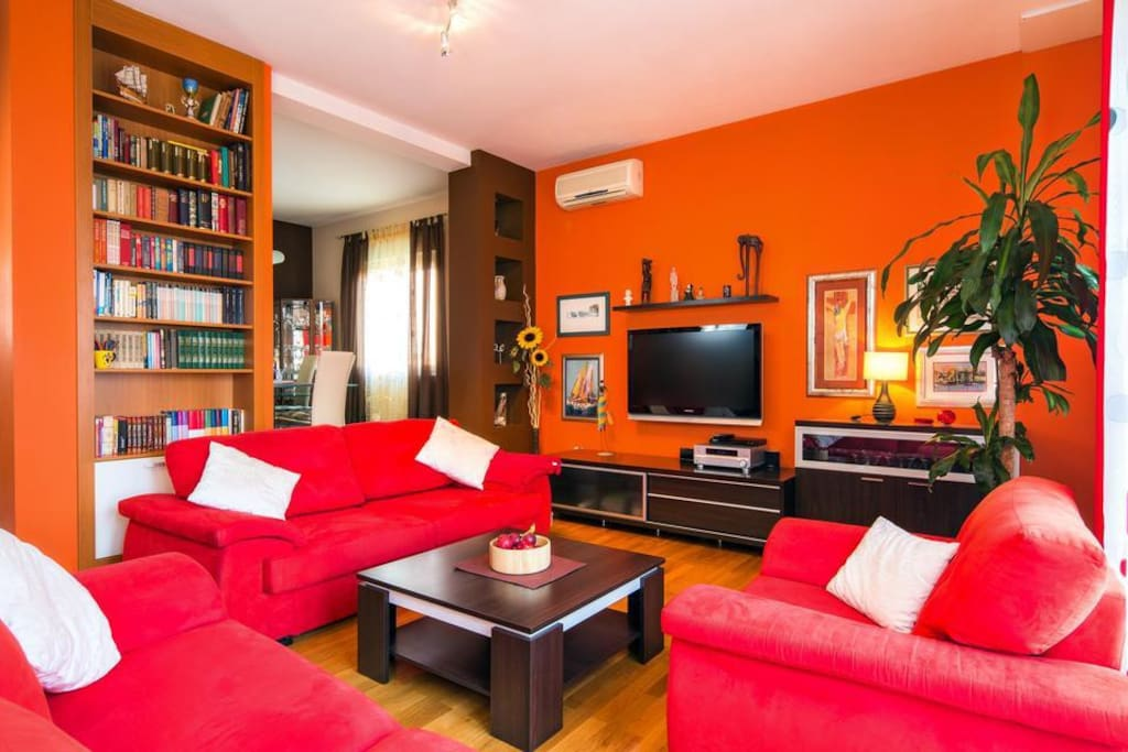 Living room, Surface: 27 m²