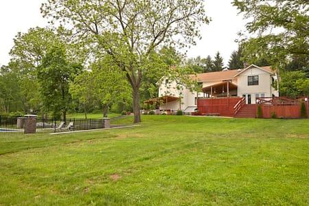 Luna Farm - Ottsville - Rumah