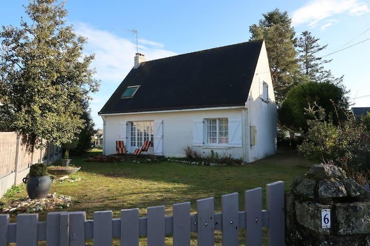La SIESTA maison familiale bord de mer 8 personnes