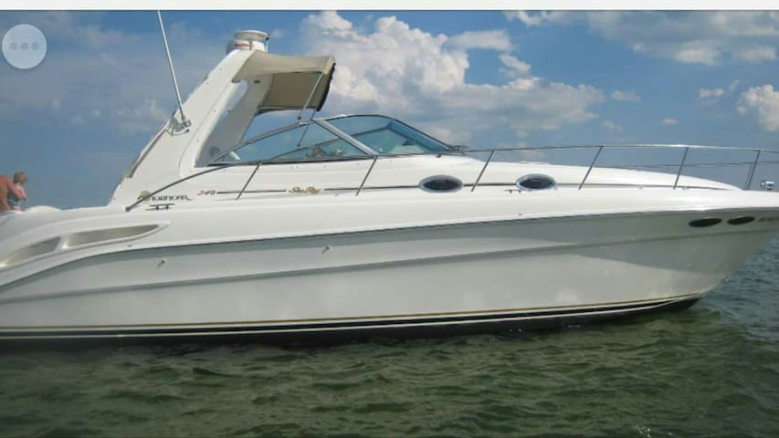 Sea Ray 34ft will negotiate