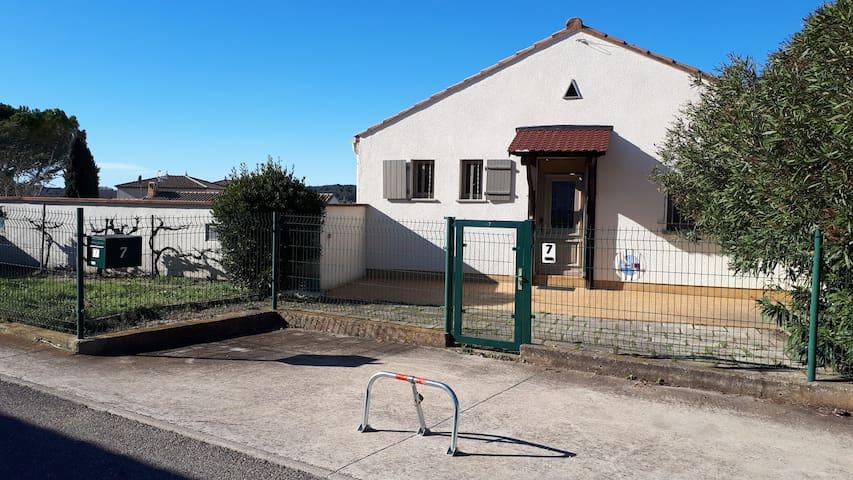 Confortable maison entre Nîmes et Montpellier