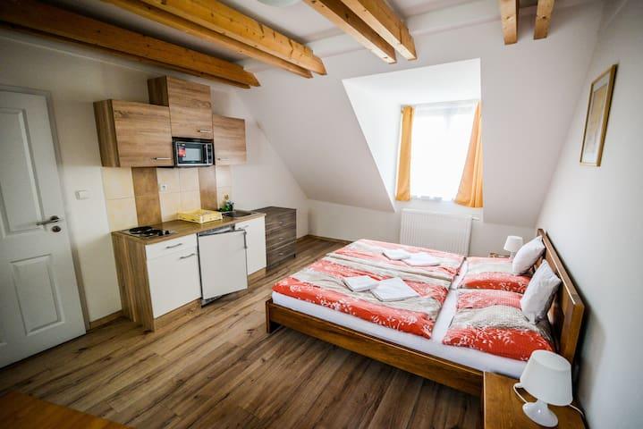 Cesky Krumlov town Delanta Apartment - Český Krumlov - Bed & Breakfast