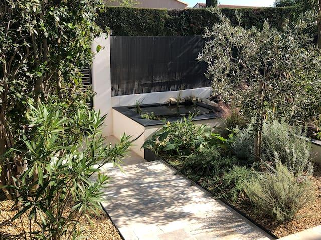 Duplex de charme avec jardin à Puyricard