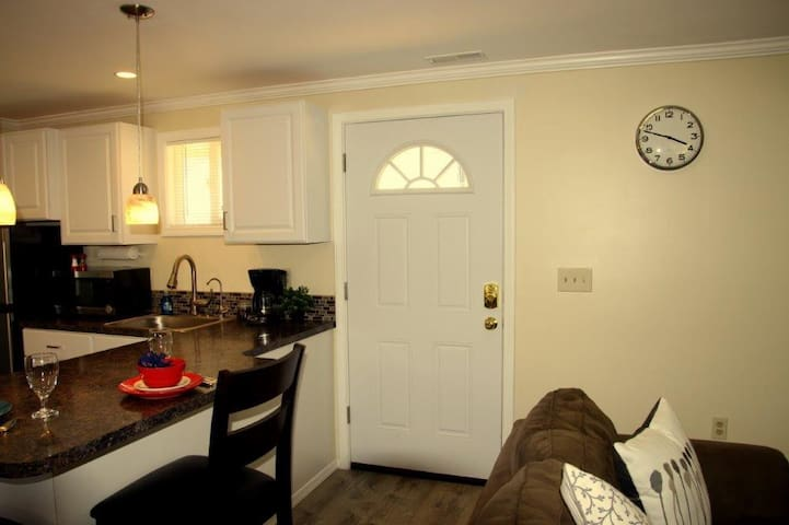 Private entrance to your suite