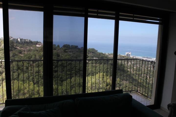Haifa home with a view