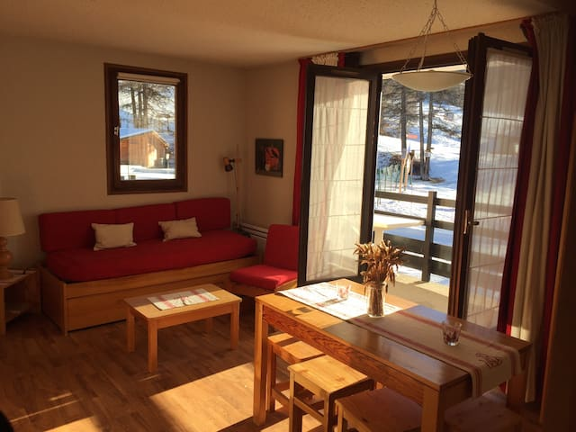 3 pièces : Emplacement exceptionnel Piscine privé - Risoul - Apartment