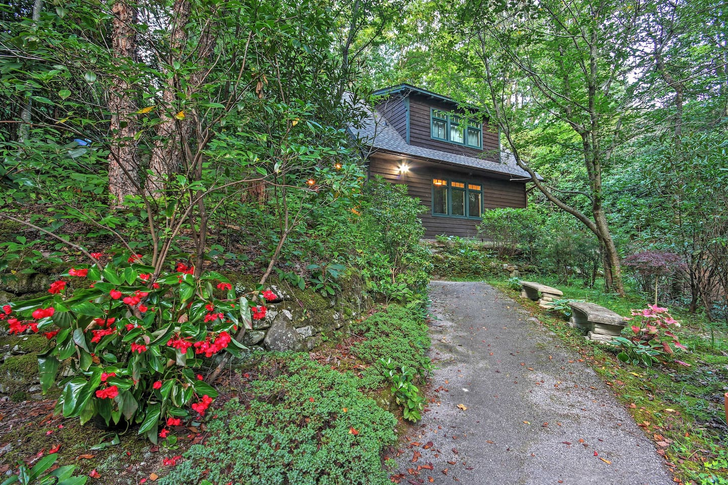 Surrounded by immense forest and wildlife, this property will help you feel away from it all.