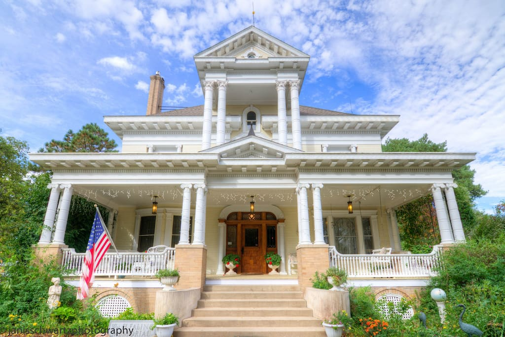 National Register of Historic Places Neoclassic Faling Mansion