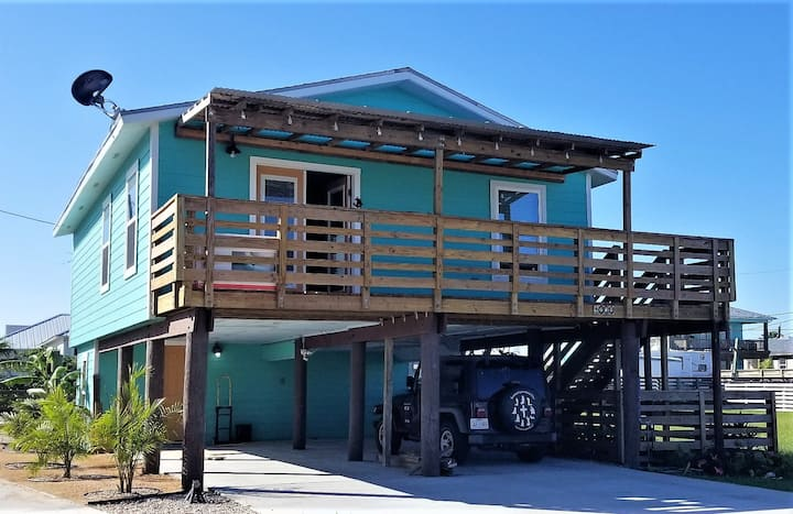 2/2 Stilt House, Near Beach, Pets OK, New Pool!