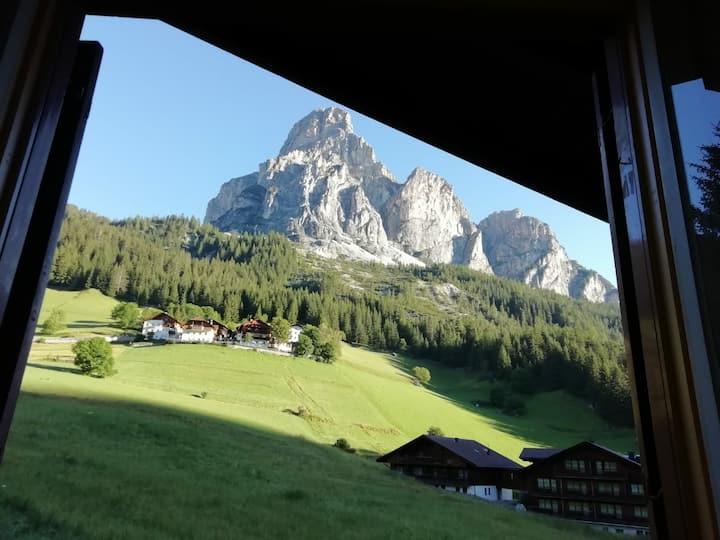 Una vacanza nel cuore delle Dolomiti.