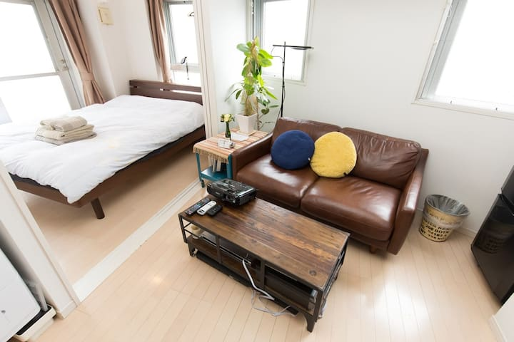 1BedroomApt nrShirokanetakanawaSTA EasyAccess WiFi - Minato-ku - Appartement