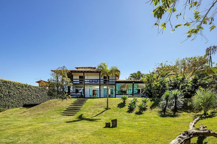 Buz015 - Beautiful house in Buzios with stunning views