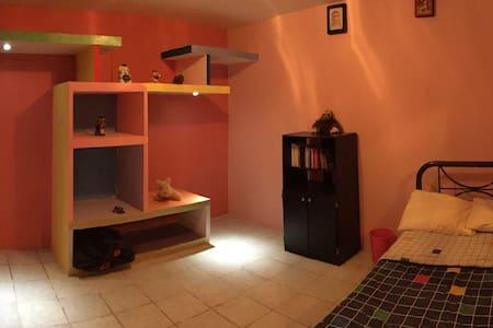 Hab. Infantil, closet colorido y cama individual - Xalapa - Casa