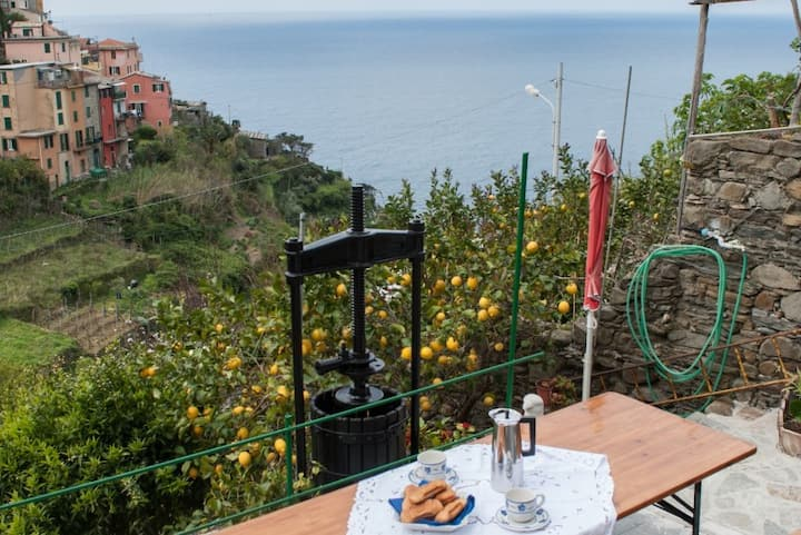 Ca de Butti apt with amazing sea view a Corniglia