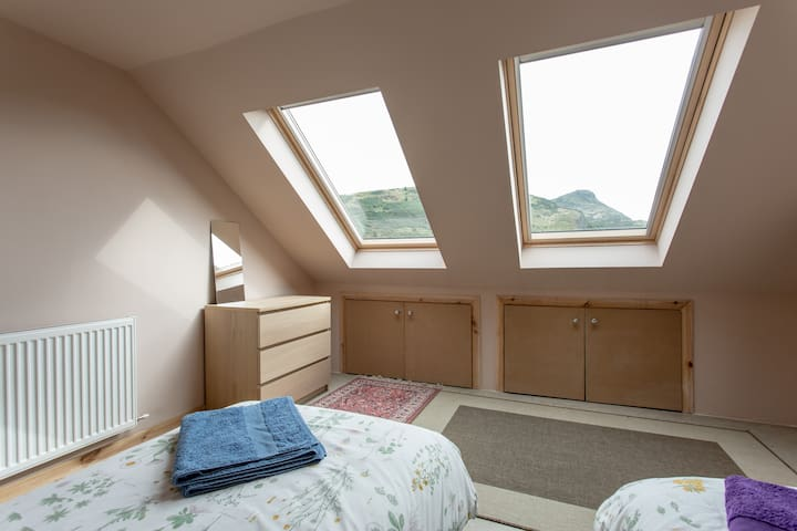 Central Room in new loft space with Fantastic view - Edimburgo - Loft