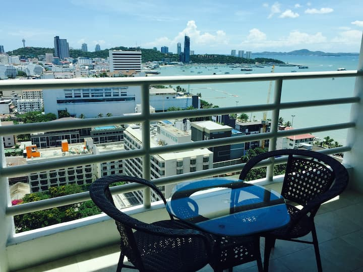 View Talay 6 Pattaya Beach By Honey Sea view