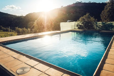 Private house with pool, in hidden valley - Álora - Haus