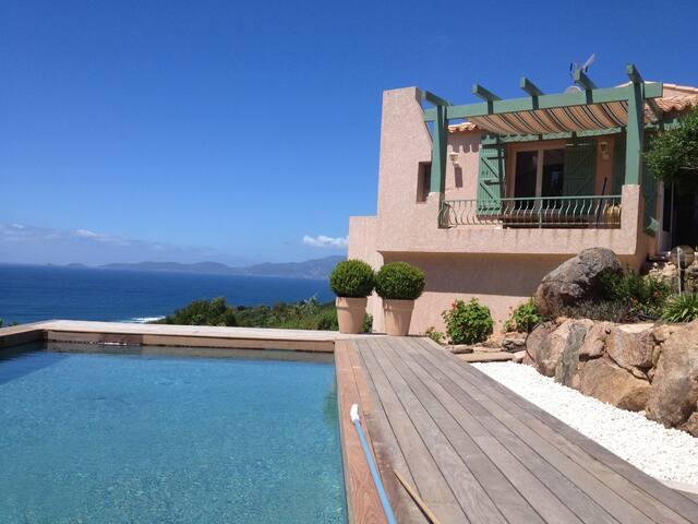 Villa de charme avec vue panoramique, Portigliolo - Coti-Chiavari - Casa