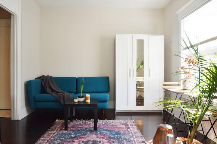 Cozy Capital Hill Apartment