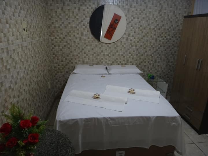 Suíte para casal no Hotel Brisa do Atlântico