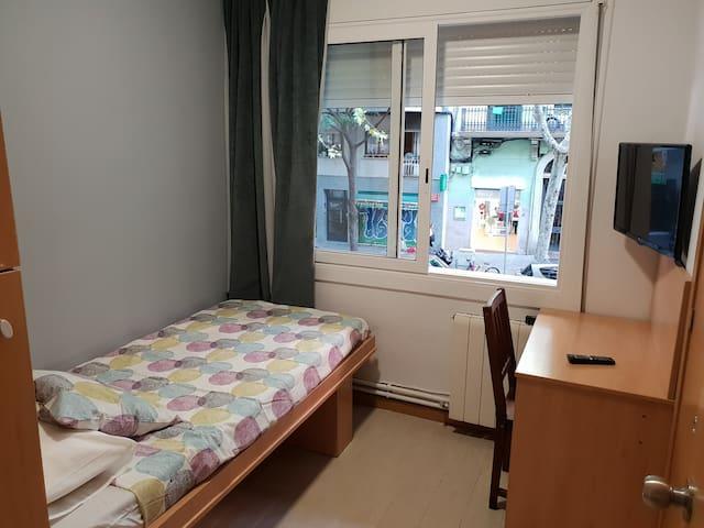 Habitación nº 4, con baño privado. Sagrada Família