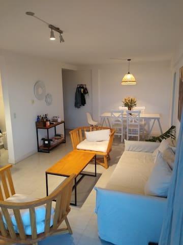 Beautiful 1 room apartment in Martinez/San Isidro