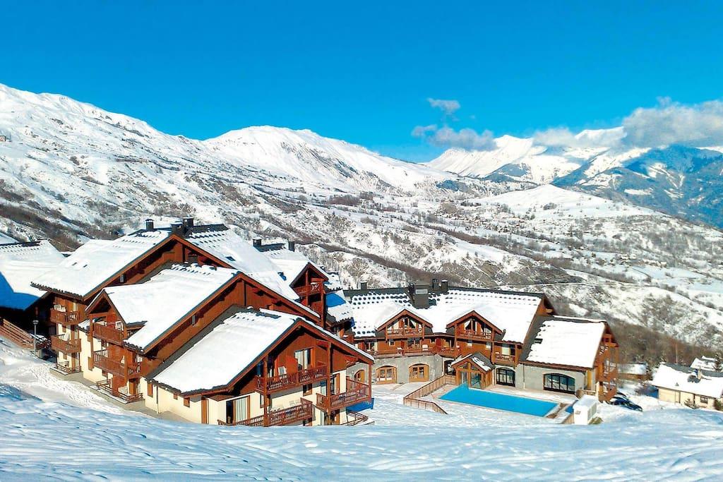 location-ski-le-corbier-reside
