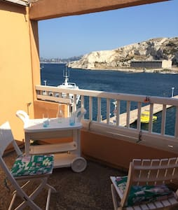 Waterfront flat at the Island of Frioul - Marseille - Flat