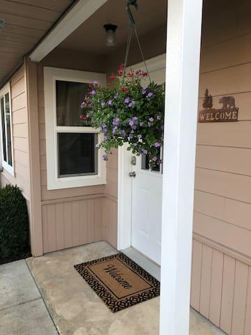 Entry to Apartment w/Keyless Lock