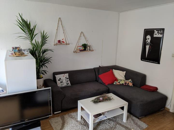 Helles 25qm Zimmer in Schwetzingerstadt