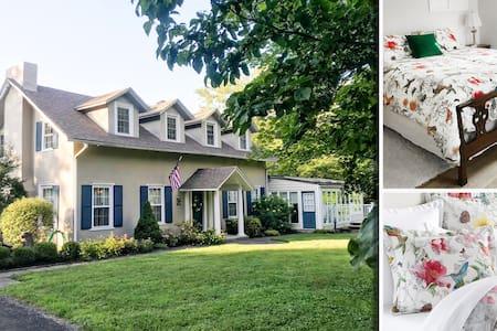 The Lansdale House B&B   The Butterfly Suite